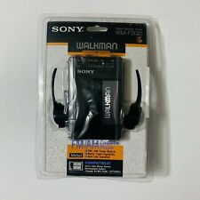 Vintage Sony Walkman WM-F2015 Stereo Cassette Player FM/AM Radio NIB Sealed New