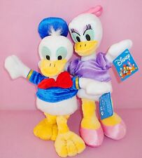 2 LARGE 35CM DISNEY DONALD & DAISY DUCK SOFT DOLL KIDS BABY PLUSH STUFFED TOY