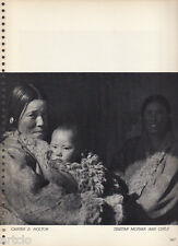Photogravure  - 1935 -  Carter D.Holton - Tibetan mother and child