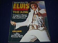 1977 REMEMBER ME ELVIS THE KING MAGAZINE - ELVIS PRESLEY - PHOTOS - II 9018
