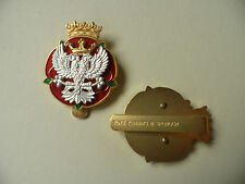 RMLY [Royal Mercian + Lancs Yeomanry] cap / beret badge new + un-issued.