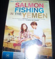 Salmon Fishing In The Yemen (Ewan McGregor Emily Blunt) (Aust Reg 4) DVD – New