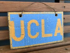 Brandy Melville UCLA Distressed Wooden Sign Plaque School Souvenir Collectible