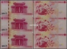China Banknote And Mint Corporation BPMC 2016 Harmonious Family Test Banknote