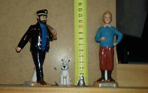 """3 Fèves géantes de la série """"Les aventures de Tintin"""""""