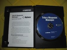 Garmin Mapsource Trip and Waypoint Manager CD V2.02   010-10215-04