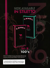 Camel No. 9 100s cigarettes print ad 2007 Now Available in Stiletto