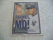 """Daily News Commemorative Edition -"""" Mariano Rivera"""" - September 20, 2013"""