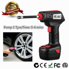 Tyre Inflator Cordless / Electirc Handheld Portable Car Air Compressor Pump SY