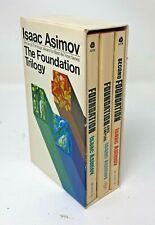 Isaac Asimov THE FOUNDATION TRILOGY Avon Softcover books Box Set