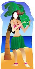SC-44 Hawaii Hula Girl Stand-In Höhe 190cm Pappfigur Aufsteller Pappaufsteller