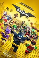 The Lego Batman Movie Original D/S Final Rolled Movie Poster 27 x 40 NEW 2017