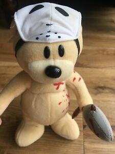 Bad Taste Bear soft bear Hannibal Jason. Friday 13th Bear