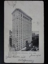 America NEW YORK Empire Building c1905 Old Postcard by Blanchard Press