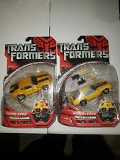 Transformers Automorph Technology Bumblebee Lot Of 2