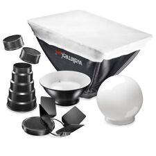 walimex pro Blitz Set 7-tlg.für Nikon SB600/SB800 Softbox, Diffusorkugel etc.