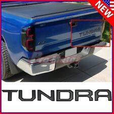 Matte Black Tailgate Letters Insert 3D Metal Sticker For Toyota Tundra 2014-2018