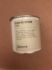 Jacksons Gloss Gel Medium - Gilding Embossing Craft Art Signwriting