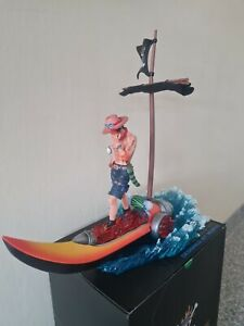 Mobius Portgas·D· Ace GK One Piece Sculpture Figure Model Resin in stock Anime