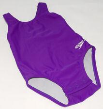 SPEEDO - Purple - 1 pc - Super Stretchy Baby SWIMSUIT sz 12 Months *Adorable!