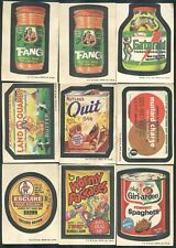 1973 Topps Wacky Packages Series 4, 31 cards