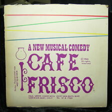 CAFE FRISCO (1966) Pre-production paperwork-Investors Pledge-Script & Lyrics