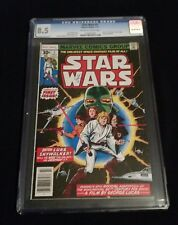 Star Wars #1 Cgc 8.5 Vf+ White Pages; 1St App Luke,Leia,Han Solo