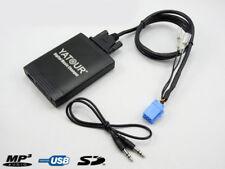 INTERFACE USB AUDIO MP3 SD ADAPTATEUR AUTORADIO COMPATIBLE RENAULT CLIO