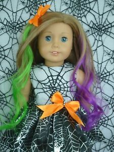 American Girl Our Generation HALLOWEEN SPIDER PARTY DRESS 18 Inch Doll Clothes