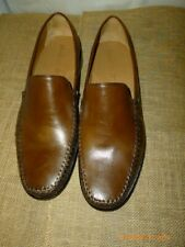 """Brass Boots Mens Brown Leather Loafers  """"Pre owned""""   Sz 12 M"""
