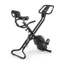 Cyclette Bicicletta Fitness Camera Schienale Ergometro Computer Nero 4Kg