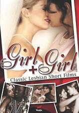 GIRL + girl (DVD) CLASSIC LESBIAN SHORT FILMS RARE DISC ONLY NO CASE NO ART c