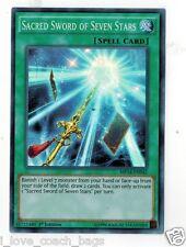 Sacred Sword of Seven Stars MP14-EN042 X 2  Mint  1st  YUGIOH Super Rare