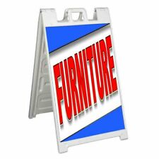 Furniture Signicade 24x36 Aframe Sidewalk Sign Banner Decal Sofa Table Sale