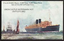 Indian Unposted Collectable Cruise Liner Postcards