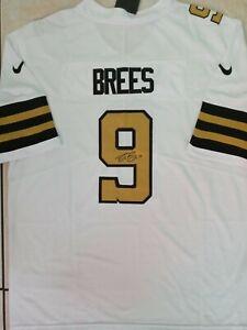 New Orleans Saints Drew Brees Autographed Authentic Nike jersey