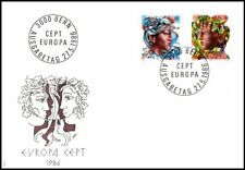 Switzerland 1986 EUROPA Stamps Nature Conservation FDC Bern CDS