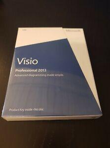 Microsoft Visio Professional 2013 Product Key Card | D87-05358