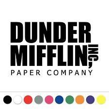 The Office Dunder Mifflin Inc Logo Vinyl Decal Sticker Laptop Car Window Phone