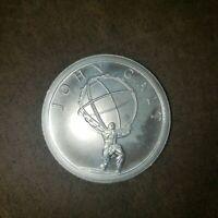2013 JOHN GALT ATLAS SHRUGGED AYN RAND Round Coin 1 oz .999 Silver Mulligan Mint