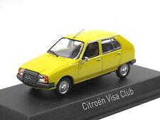 NOREV 150940 - 1979 CITROEN VISA CLUB-Mimosa Yellow - 1:43 neuf!!!