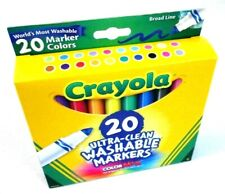 Crayola 20 Count Box Broad Line Ultra Clean Washable Markers pens 683 []