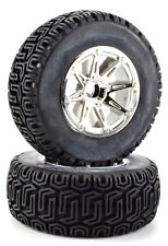 Apex RC Products 1/10 Short Course Wheels + Off-Road Tires - Traxxas Slash #6200