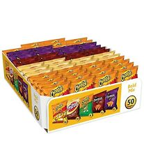 50 X Bold Mix Cheetos, Fritos, Doritos  individual bags Chips