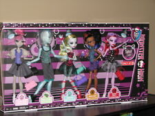 NIB Monster High DANCE CLASS 5 pack dolls GILLINGTON new with GIL WEBBER Robecca