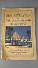 Rare Pyramid Book New Revelation in the Great Pyramid 1948
