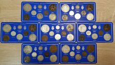More details for 1902-10 edward vii 8 coin year set coin set choice of year some rare ideal gift