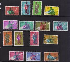 stamps  Guinea set SC#236-247,C32-34