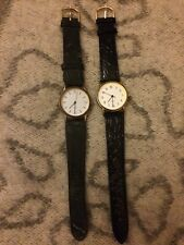 2 Women watches,both Working.both Used, Leather Strap