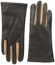 ARMANI EXCHANGE BY ARMANI SIMPLE LEATHER GLOVES. BLACK, SIZE X SMALL / SMALL NEW